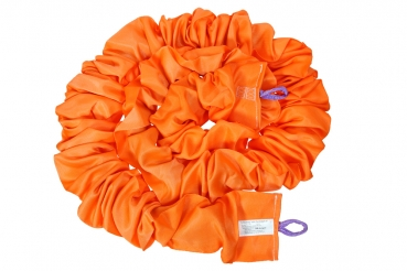 XL Elastic Seil für Bungee-Run 8m orange (bis ca. 150 kg)
